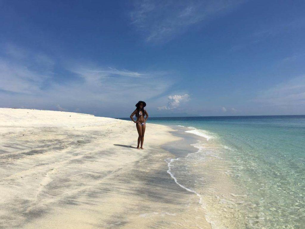 beach, white sand