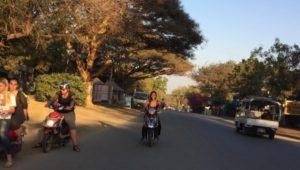 Bagan, Myanmar, e-bike, accident