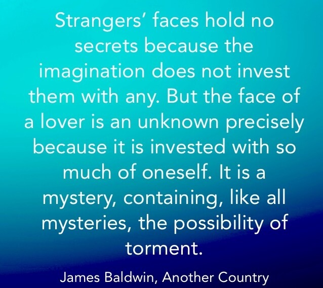 Onevolving, Francine Mends, quote, Baldwin, James Baldwin, Onevolving.com, Another Country